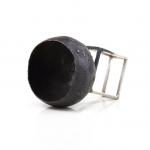 Object / Ring Title: Sense and sensibility Materials: Silver, niello, patina